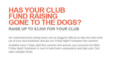Has your fundraising gone to the dogs
