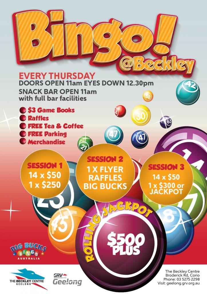 GGRC Generic Bingo Poster
