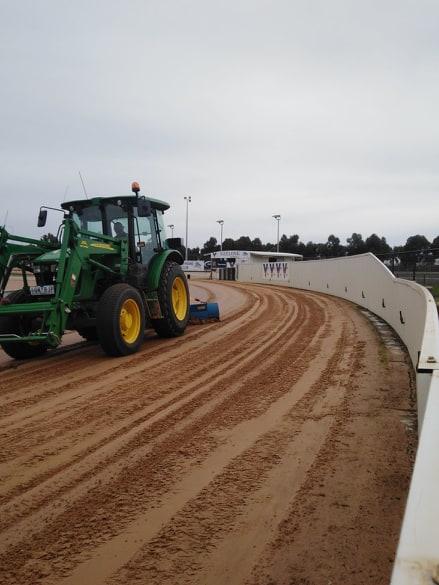 Track Harrowing 1